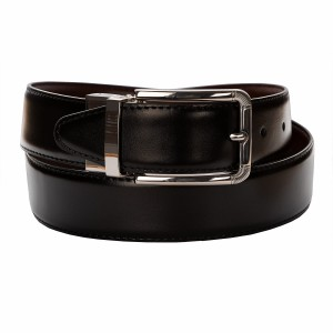 BELT ZK 1806 1 3,5 CM BLACK/BROWN