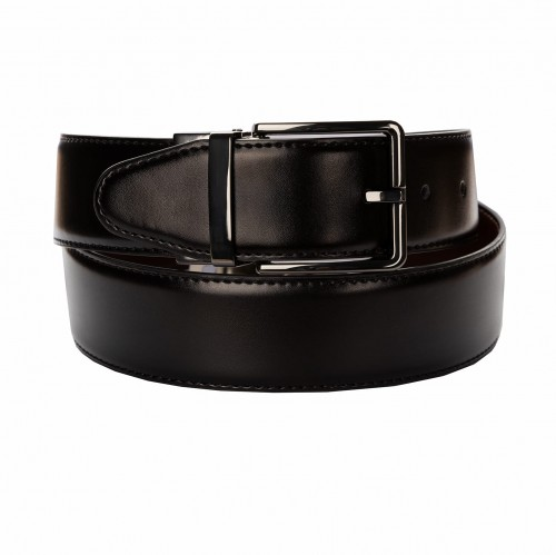 BELT ZK 1805 2 4,0 CM BLACK/BROWN