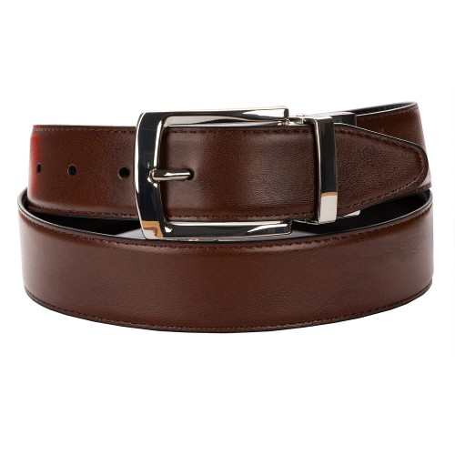 BELT ZK 1807 1 3,5 CM BLACK/BROWN
