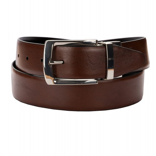 BELT ZK 1807 4 3,5 CM BLACK/BROWN