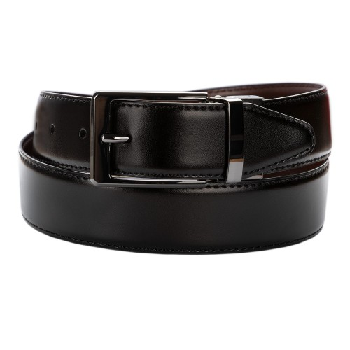 BELT ZK 1808 2 3,5 CM BLACK/BROWN