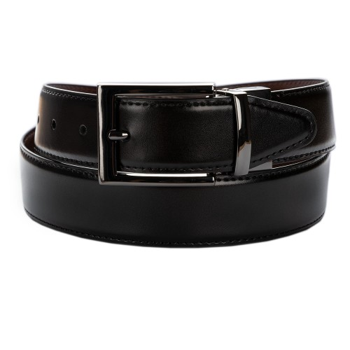 BELT ZK 1809 2 3,5 CM BLACK/BROWN