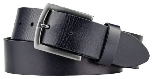 BELT COLOR NAVY NICKEL MATTE