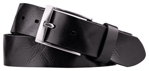 BELT LEATHER NAVY